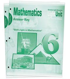 (SE) Math 601-610 Answer Key Set