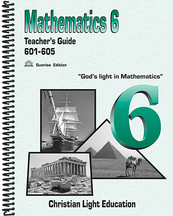 Math 601-605 - Teacher's Guide (with answers)