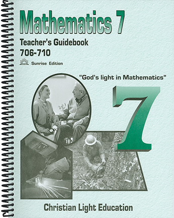 Math 706-710 - Teacher's Guide (with answers)
