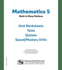 Mathematics 5 - Student Material