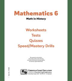 Mathematics 6 - Student Material