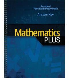 Mathematics Plus - Answer Key