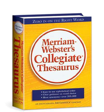 Merriam-Webster Collegiate Thesaurus