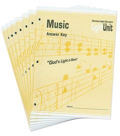 CLE Music 1-8 Answer Key Set