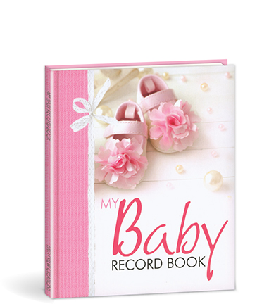 My Baby Record Book - Pink