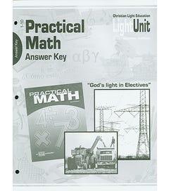 Practical Math - Answer Key - 4th Edition