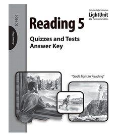 (SE2) Reading 501-505 Quiz & Test Answer Key