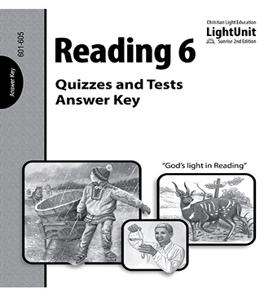 (SE2) Reading 601-605 Quiz & Test Answer Key