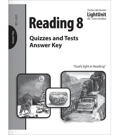 (SE2) Reading 801-805 Quiz & Test Answer Key