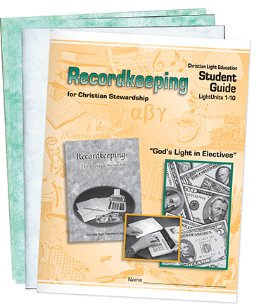 Recordkeeping - Student Materials
