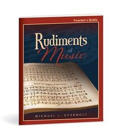Rudiments of Music - Teacher's Guide