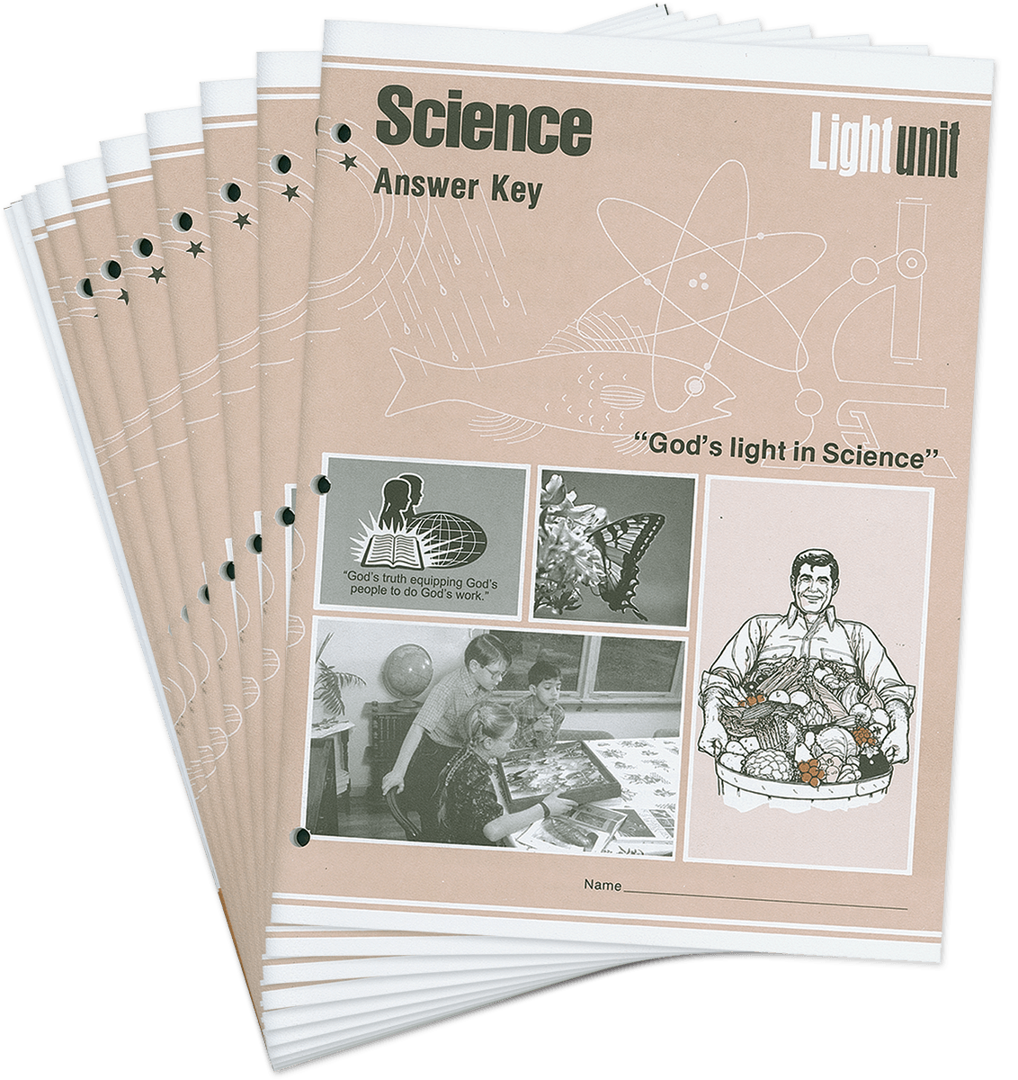 Science 301-310 Answer Key Set