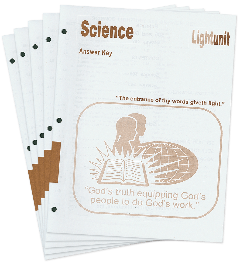 Science 1001-1010 Answer Key Set