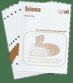 Science 401-410 Answer Key Set
