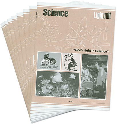 Science 1101-1110 LightUnit Set • Chemistry