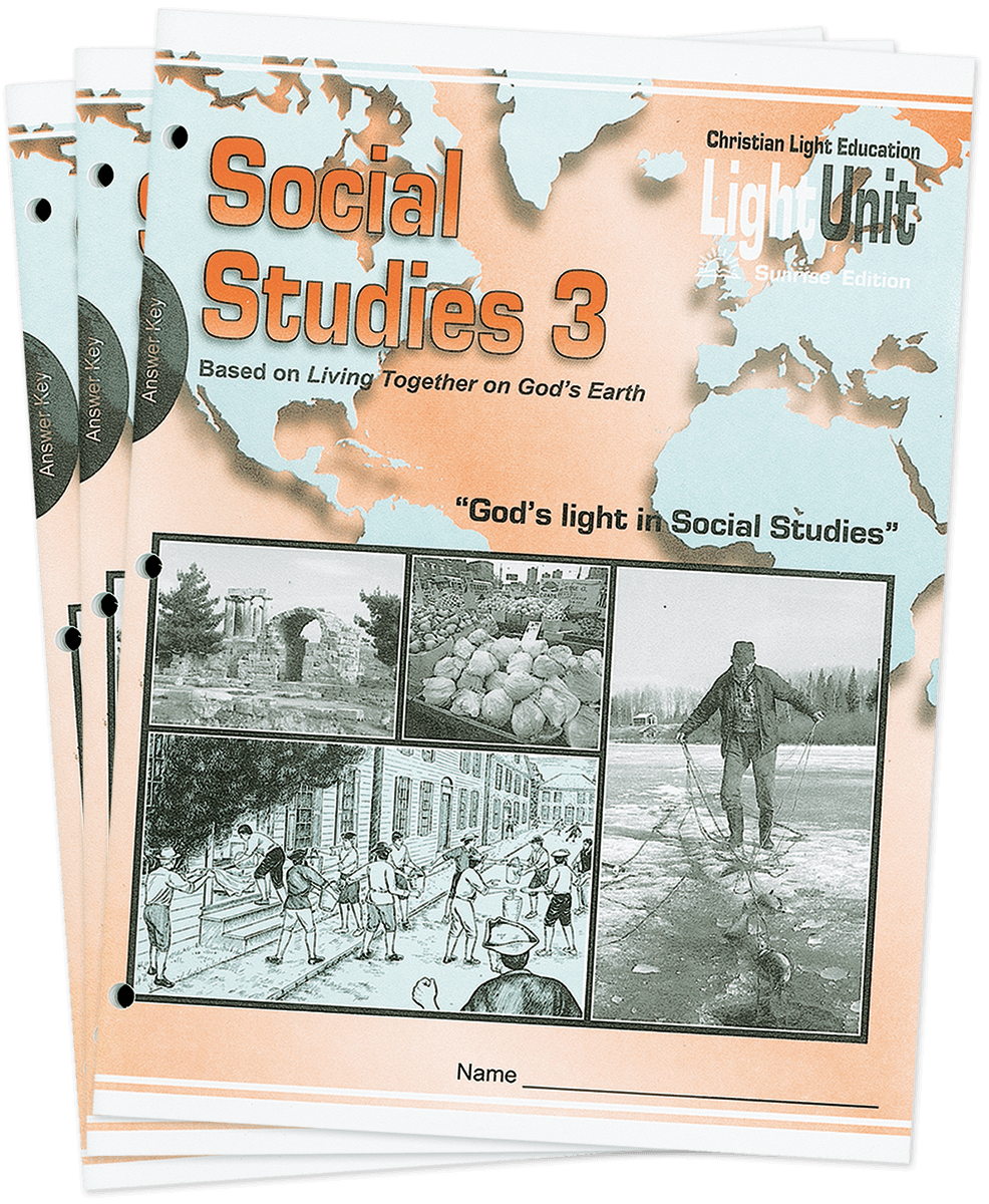 (SE) Social Studies 301-306 Answer Key Set