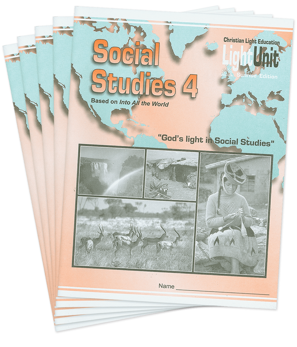 (SE) Social Studies 401-410 LightUnit Set