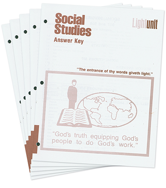 Social Studies 1101-1110 Answer Key Set