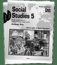 (SE) Social Studies 501-509 Answer Key Set