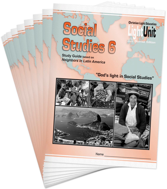 (SE) Social Studies 601-610 LightUnit Set