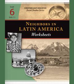 Neighbors in Latin America - Worksheets 1