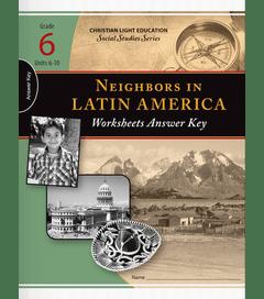 Neighbors in Latin America - Worksheet Answer Key 2