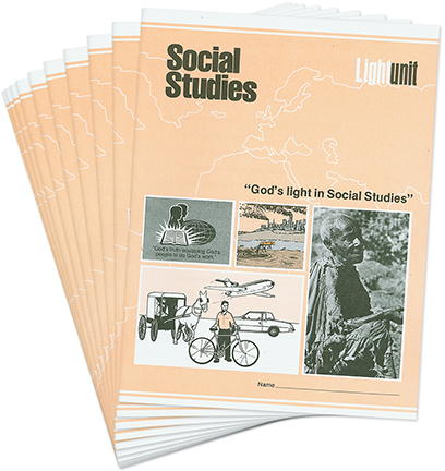 Social Studies 1201-1210 LightUnit Set • Democracy and Christian Challenges