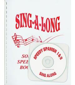SPEEDY SPANISH - Song Sheet & CD