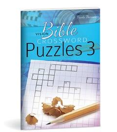 Bible Crossword Puzzles No. 3